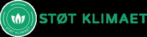 Støt Klimaet Logo